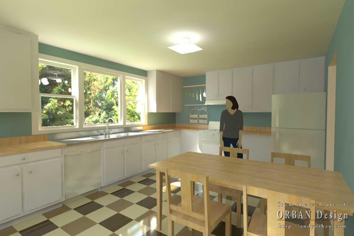 traditional kitchen interior