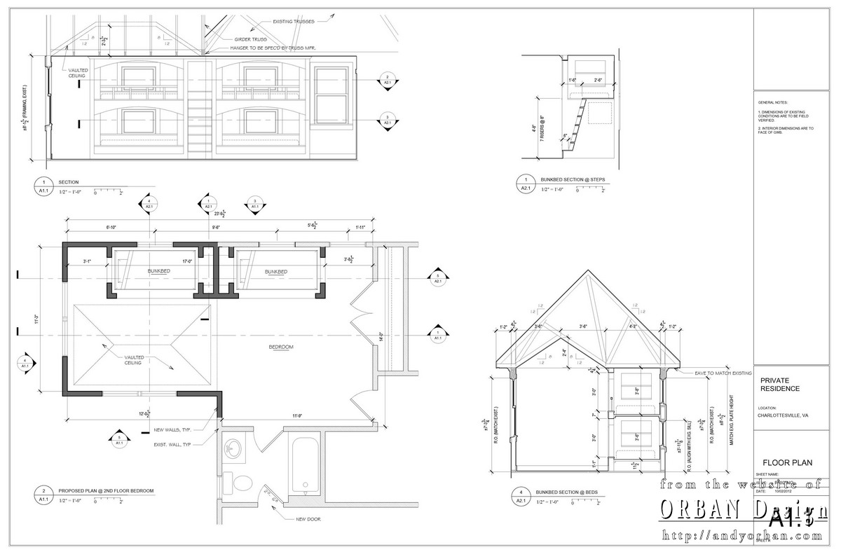 Elevation Plan Sketchup : Builder shop drawings