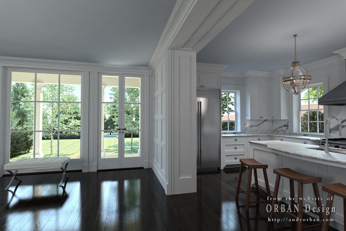 luxury mansion interior rendering 4