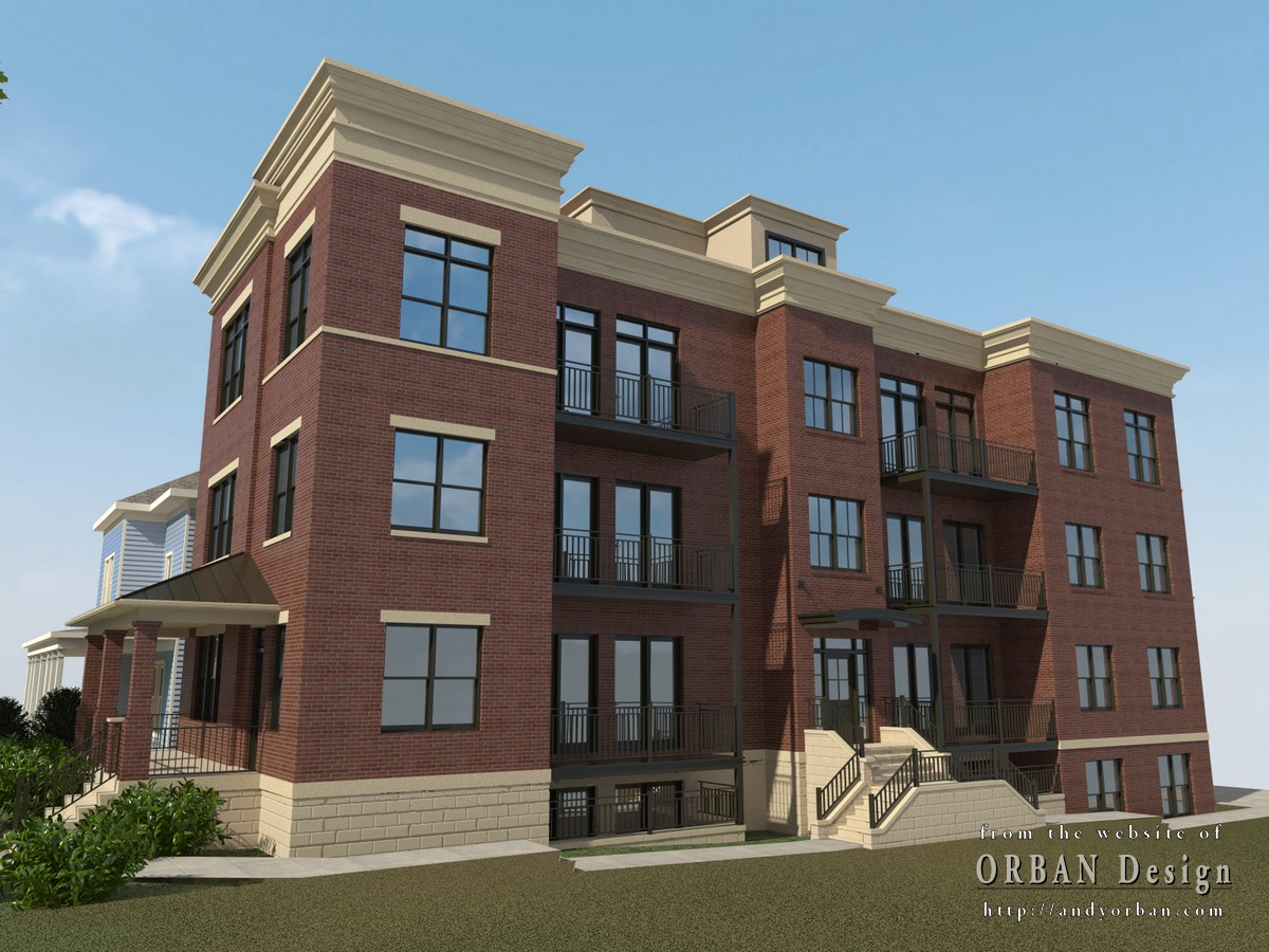 Apartment Building Color Schemes end of the year wrap-up, various renders – charlottesville