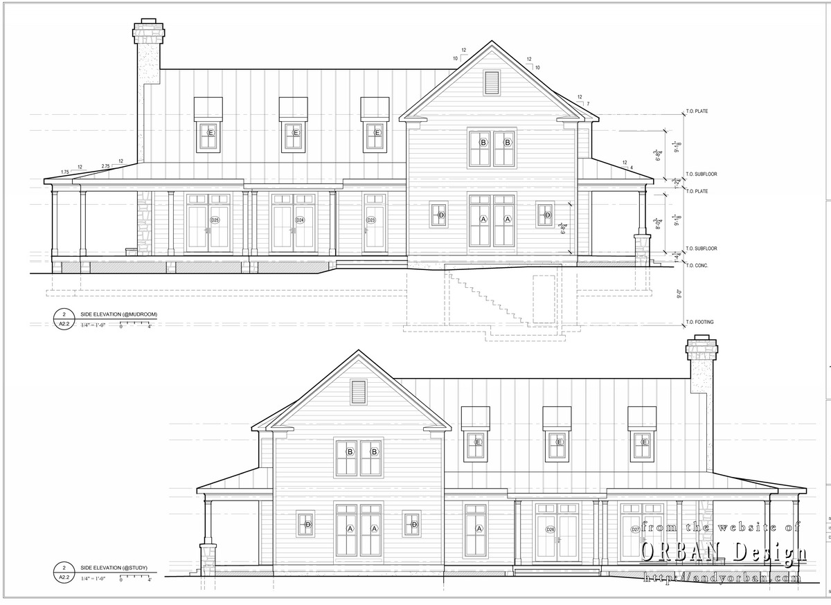 Elevation Plan Sketchup : Converting drawings to renderings charlottesville
